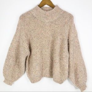 Joie Markita Pink Sky Cozy Knit Sweater NEW Small